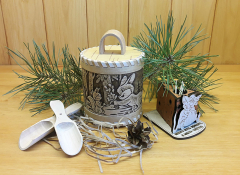 Подарочные наборы на Новый год до 1000 рублей.